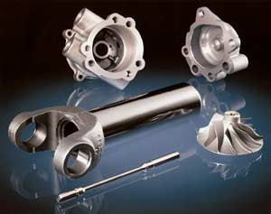 Precision CNC Machining Parts produced from multi process steps utilizing two to five axis capabilities
