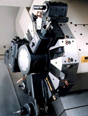 CNC Lathe options include polar, cylindrical and simultaneous C-axis, X-axis and Z-axis interpolation